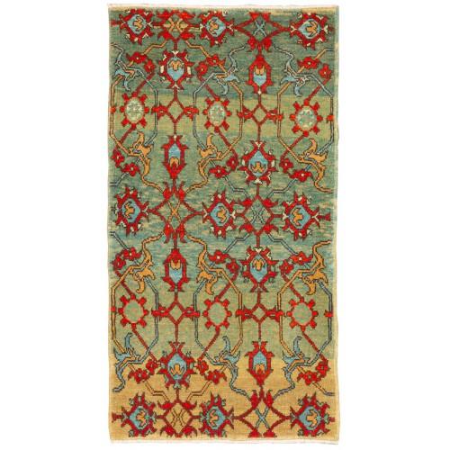 マムルーク 絨毯 玄関サイズ C40164