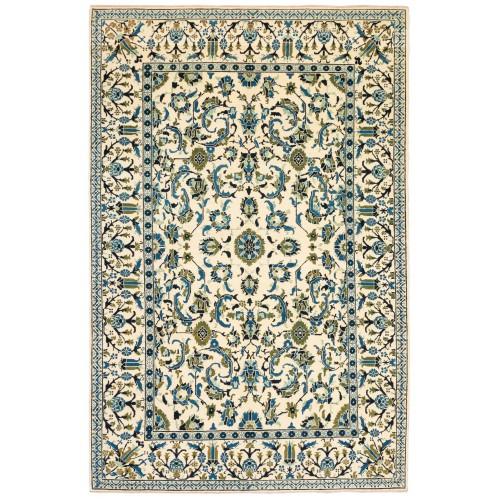 オットマンマムルーク絨毯 C40171