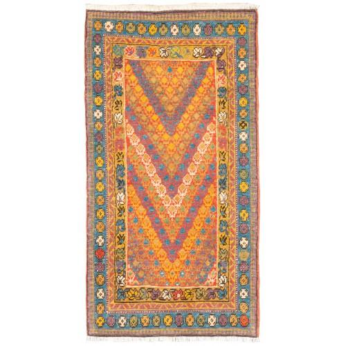 Northwest Persia Kurdish Rug C40172