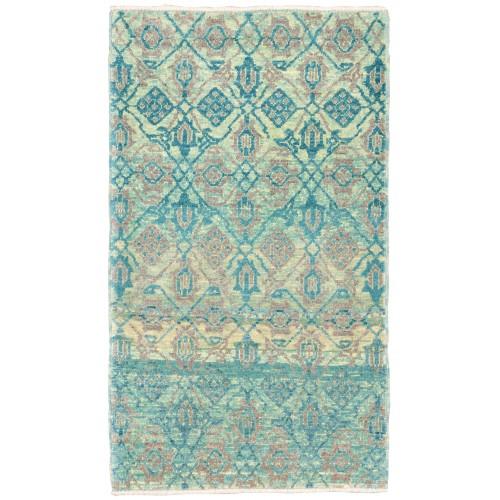 マムルーク 絨毯 玄関サイズ C40179