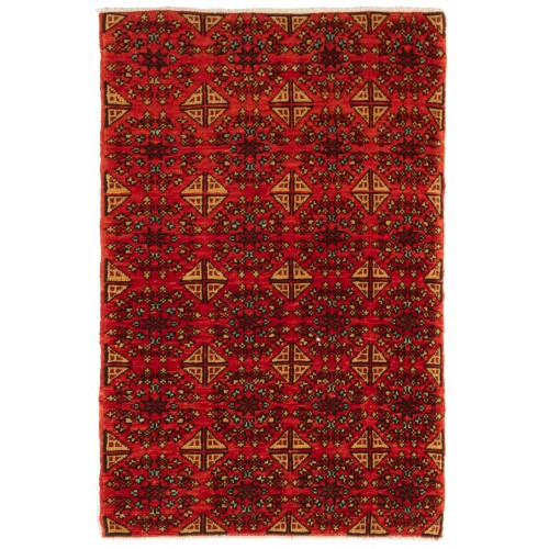 マムルーク デザイン絨毯 C50124