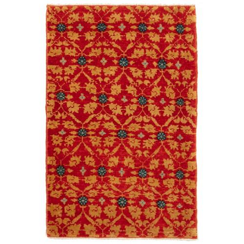 マムルーク デザイン絨毯 C50152