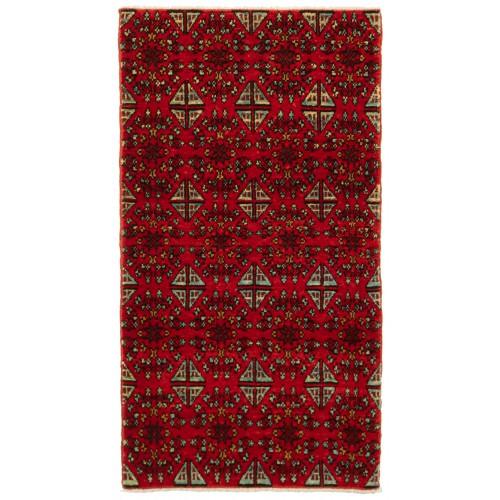 マムルーク デザイン絨毯 C50153