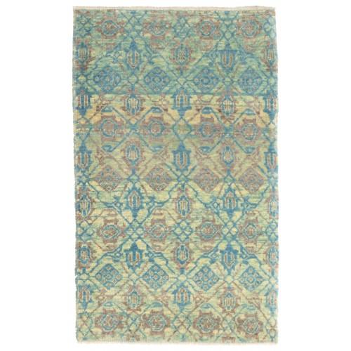 マムルーク デザイン絨毯 C50224