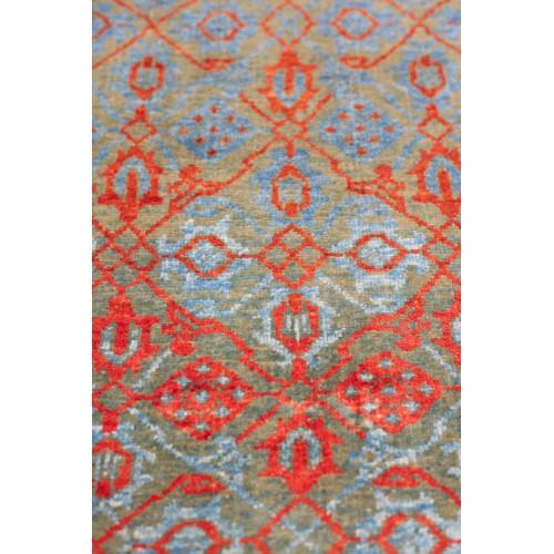 マムルーク 絨毯 玄関サイズ C40139