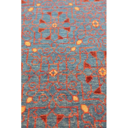 マムルーク デザイン絨毯 玄関サイズ C40083