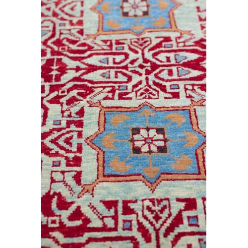 マムルーク デザイン絨毯 玄関サイズ C40085