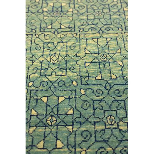 マムルーク デザイン絨毯 玄関サイズ C40092