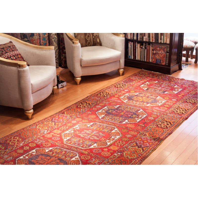 アンティーク アナトリア絨毯 Antique Anatolian Carpet C23002