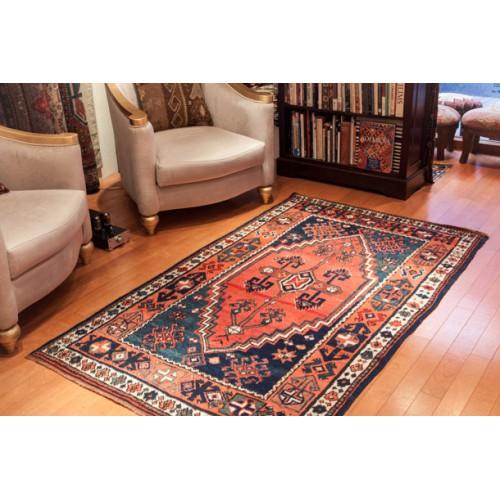 アンティーク アナトリア絨毯 Antique Kurdish Carpet C23111