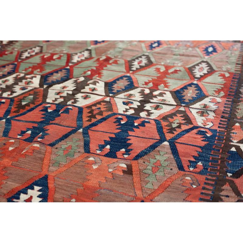 中央トルコアンティークコンヤキリム Antique Konya Kilim K30029